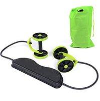 Wholesale Multifunction Portable Slim Equipment Waist Equipment home fitness ab roller Revoflex Xtreme Abdominal Resistance Exerciser abdominal
