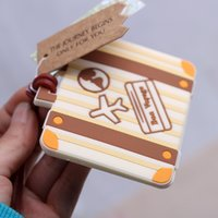 Wholesale 2016 Wedding Favors Luggage Tags Listing Small Gifts CM Christmas gift