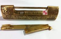 Wholesale accessories antique copper copper bonus classical furniture accessories Accessories Bookcase wardrobe Chinese copper lock