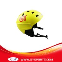 abs ce certificate - CE Certificate yellow Water Sports Helmet ABS Outer Shell With Removable Ear Pads Freeshipping