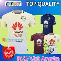 footballs - Top Quality Mexico Club America Soccer Jerseys Home Yellow Away Red Blue MICKY O PERALTA SAMBUEZA D BENEDETTO football Shirts