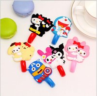 Wholesale Wall decor cartoon characters hook up Wall hooks racks Clothes hat Hanger Bedroom Kitchen Bathroom strong adhesive stick hook