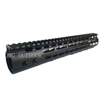 cod - 12 inch Handguard Ris Rail Airsoft M4 CNC Keymod RIS SOFTAIR RIS IN METALLO COD steel or aluminum barrel nut