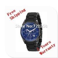 Cheap free hk shipping _Absolute luxury NEW BLACK SILICON CHRONOGRAPH MENS LATEST WRIST WATCH AR5921 5921 +original box