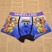 anime mens underwear - Hot Anime One Piece Cotton Mens Underwear Boxers Pants Micro Fiber Cosplay Gift