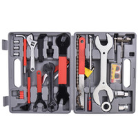 Wholesale 4 PC Multi Function Bike Bicycle Home Mechanic Tool Repair Kit Set Box Cycling