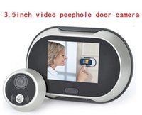 Wholesale 3 quot LCD Screen Digital Door Viewer Camera with Chords Doorbell Peephole Viewer Monitor Do no disturb function