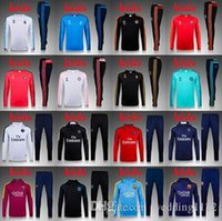 Wholesale Top quality training services for children European Cup Real Madrid Atletico Madrid training children clothes