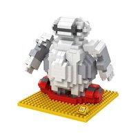 best big block - Baymax LOZ Diamond Building Blocks The Big Hero Action Figures Toys Best Christmas Gifts for Children A166