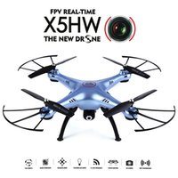 Wholesale US Stock Original SYMA X5HW Wifi FPV MP HD Camera RC Quadcopter with Eversion CF Mode Hover Function coolcity2012