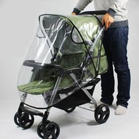 Wholesale New Arrival Stroller Rain Cover Universal Waterproof Pram Baby Pushchair Dust Wind Shield Stroller Accessories VT0378