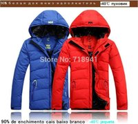 Wholesale Fall top quality men s down jacket white dock down filler winter jacket hoodies men Down amp Parkas outerwear
