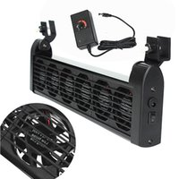 acrylic fish tank prices - Plastic Stainless Steel Aquarium Chillers Cooling Fan fans Adapter V Chiller Fish Tank x mm Best Price