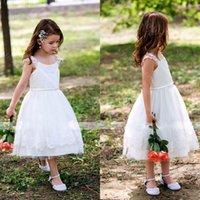 Precio de Pequeña novia vestido de niña de las flores-2016 Vestidos de fiesta Vestidos de desfile de niña Vestidos de niña Vestidos de novia Vestidos de novia