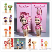 artists collection - 8 styles Sonny Angel Artist Collection Heart Chocolate Version PVC Action Figure Collection Model Toy Dol CM set