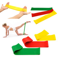 Wholesale Natural latex Tension Resistance Workout Bands Pilates Fitness Excercise Rehab Yoga Core Loop Gym yoga Fitness Bands Quality