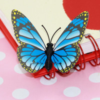 Wholesale 3D Wall Stickers Butterfly Fridge Magnet Wedding Decoration Home Freeshipping