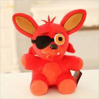 bay toys - cm Five Nights At Freddy s FNAF Freddy Fazbear Bear Foxy Bonnie Chica Stuffed Plush Toys Bay Gift ML0179