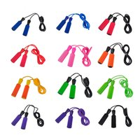 Wholesale 3M Bearing Jump Rope Fitness Bodybuilding Equipment Sponge Handle Quality Skipping Jump Rope Colors New Arrival