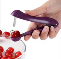 Wholesale Kitchenware cherry pitted cherries seeded device Creative Kitchen Gadget random colors