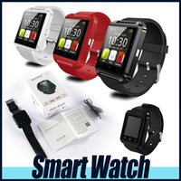 Wholesale Bluetooth Smartwatch U8 U Watch Smart Watch Wrist Watches for iPhone S S Samsung S4 S5 S6 Note Android Phone