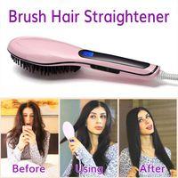 Wholesale DAFNI Hair Straightener Brush Comb Straightening Irons Electric Straight Hair Styling Tool VS Beatiful Star Hair Straightener curling irons