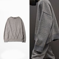 apricot season - YEEZYE SEASON Hiphop Men Women Sweater Fashion Apricot Kanye West Clothes Oversized Loose sweaters Mens Street Clothing