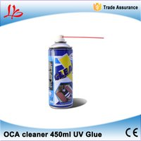 Wholesale LY OCA cleaner Newest ml UV Glue OCA Remover Cleaner for iPhone Samsung LCD touch screen LOCA remover