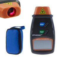 Wholesale Digital Laser Tachometer RPM Meter Non Contact Motor Speed Gauge Revolution Spin