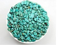 aquarium plant pots - Green Turquoise gravel bulk turquoise crushed crystal aquarium decoration pot magnet fish tank flower pot stone