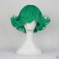 average men - gt New One Punch Man Anime Tornado of Terror Tatsumaki Cosplay Wig Green Hair
