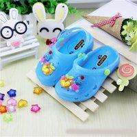 Wholesale Girl Boy Sandals Plain Rain Boot Baby Summer Cartoon Bear Crocs Children Toddler Kids Shoes Mini Melissa Shoes For Girls