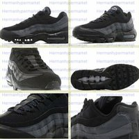 Cheap Hot Sale Man Air Shoes Outdoor Jogging Sportwear Men Retro Max 95 OG Triple Black Sport Running Shoes Boy Trainer Sneakers