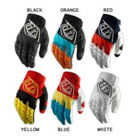 Wholesale TLD Moto GP Troy Lee Designs GLOVES TLD motocross gloves mountain bike full finger Cycling Motorcycle gloves Size M XL