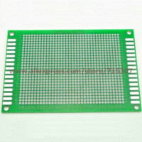 Wholesale 3pcs x12cm double side prototype pcb universal board fiberglass FR4 thickness mm Double Sided PCB Cheap Double Sided PCB