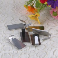 Wholesale 6pcs Adhesive Kitchen Wall Door Stainless Steel Stick Holder Hook Hanger Oval Square for Choose PJ