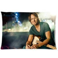 Wholesale Custom Friend Gift Keith Urban x75cm Bedding Fashion Pillow Case For Sofa Bed Decor