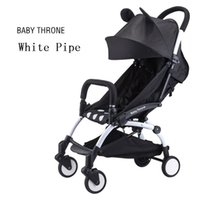 baby weights - Fashion Baby Strollers Europe Style Light Weight New Baby Folding Comfortable Stroller Carriage For Travel Girl Boy Baby Purple Strollers