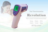 baby measurement - New Muti fuction Baby Adult Digital Termomete Infrared Forehead Body Thermometer Gun Non contact Temperature Measurement Device ZA0176