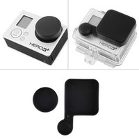 Wholesale Protective Camera Lens Cap Cover Housing Case Cover For Gopro s Precious Lens For Gopro Sports Camera Black