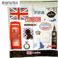 bathing portraits - Shower Curtain Polyester cm cm Living Room London Life European Style Bathing Curtains