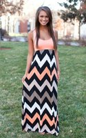 best maxi dresses - Sabo Skirt New Pink Lily Long Maxi Dress Chevron Curvy Floor Length Dress Best Day Ever Tank Chevron Curvy
