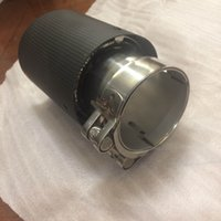 Wholesale Brand New Universal Inlet2 Outlet3 Akrapovic Carbon Fiber Exhaust Tip Muffler S Fits All