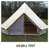 bell construction - D amp R Waterproof M Khaki bell tent canvas yurt tent canvas tipi tent for sale meters diameter feets