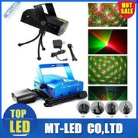Auto strobe best professional tripod - BEST MW Mini Red Green Moving Party Laser Stage Light laser DJ party light Twinkle V Hz With Tripod lights