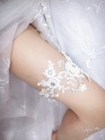 Wholesale 2016 Cheap Sexy Beading Wedding Leg Garter Belt Rustic Wedding Garter Bridal Garter Wedding Accessory For Bridal In Stock Free size
