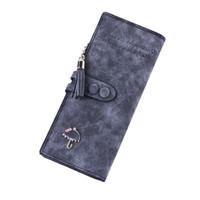 Wholesale S5Q Women Vintage Fold Zipper Clutch Wallet Card Holder Case Leather Long Purse AAAFYL