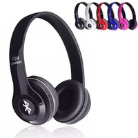 apple iphone handset - Headband Bluetooth Headphones P24 H P Head Band Earphone Wireless Sport Ear Hook Handset Neckband for Apple Samsung HTC LG