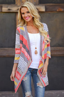 Wholesale Hot Women Long Sleeve Knitted Cardigan Loose Sweater Outwear Jacket Coat Sweater