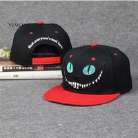 alice wonderland characters - New Alice in Wonderland Cheshire Cat Cartoon Baseball Caps BUGS BUNNY SYLVESTER Hats for Men and Women Snapback Hiphop Boy CAP